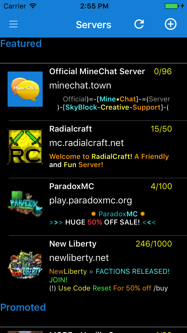 MineChat MineChat MineChat And MineFriends - Minecraft online spielen handy